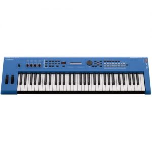 Yamaha MX61 II Music Production Synthesizer Blue - Ex Demo at Gear 4 Music Image