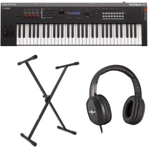 Yamaha MX61 II with Stand and Headphones at Gear 4 Music Image