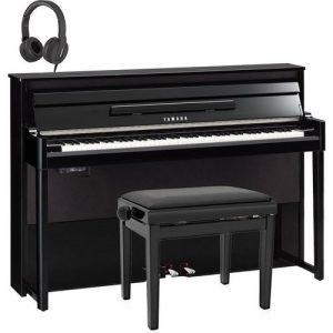 Yamaha NU1X AvantGrand Hybrid Digital Piano Package Polished Ebony at Gear 4 Music Image