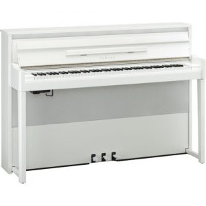 Yamaha NU1X AvantGrand Hybrid Digital Piano Polished Brilliant White at Gear 4 Music Image