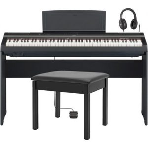 Yamaha P125 Digital Piano Package Black at Gear 4 Music Image