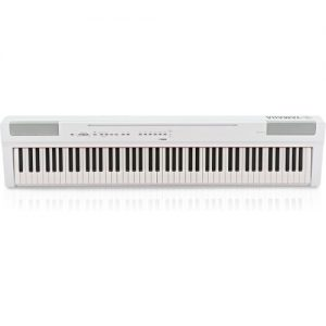 Yamaha P125 Digital Piano White at Gear 4 Music Image