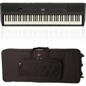 Yamaha P515 Digital Piano Black Gator Case Bundle at Gear 4 Music Image