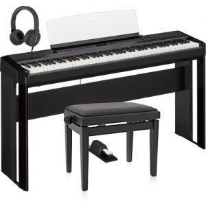 Yamaha P515 Digital Piano Package Black at Gear 4 Music Image