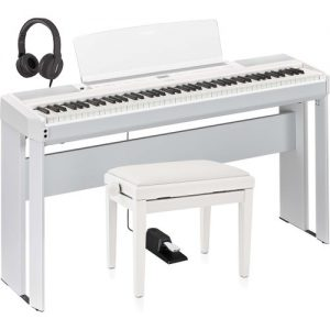 Yamaha P515 Digital Piano Package White at Gear 4 Music Image