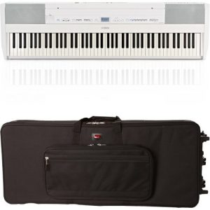 Yamaha P515 Digital Piano White Gator Case Bundle at Gear 4 Music Image