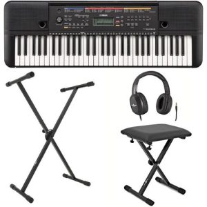 Yamaha PSR E263 Portable Keyboard with Stand Bench and Headphones at Gear 4 Music Image
