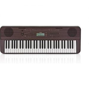 Yamaha PSR E360 Portable Keyboard Dark Walnut at Gear 4 Music Image