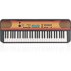 Yamaha PSR E360 Portable Keyboard Maple at Gear 4 Music Image