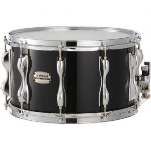 Yamaha Recording Custom 14 x 8 Birch Snare Drum Solid Black at Gear 4 Music Image