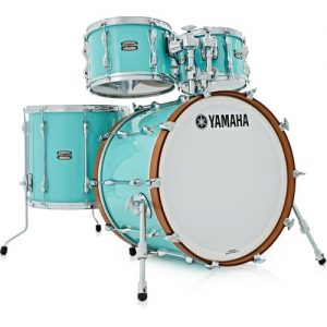 "Yamaha Recording Custom 22"" 4 Piece Shell Pack Surf Green at Gear 4 Music Image"