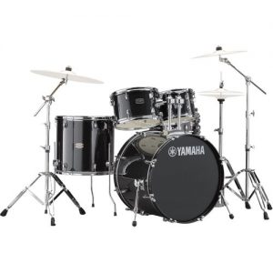 "Yamaha Rydeen 20"" Drum Kit w/ Hardware Black Sparkle at Gear 4 Music Image"