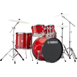 "Yamaha Rydeen 20"" Drum Kit w/ Hardware Hot Red at Gear 4 Music Image"