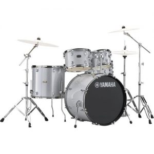 "Yamaha Rydeen 20"" Drum Kit w/ Hardware Silver Sparkle at Gear 4 Music Image"
