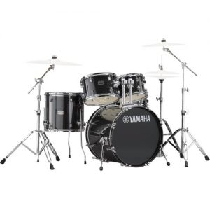 "Yamaha Rydeen 22"" Drum Kit w/ Hardware Black Sparkle at Gear 4 Music Image"