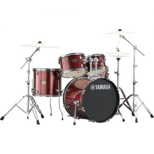 "Yamaha Rydeen 22"" Drum Kit w/ Hardware Burgundy Sparkle at Gear 4 Music Image"