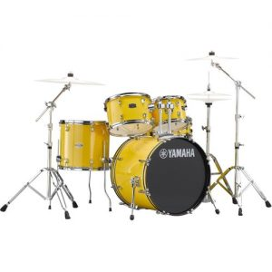 "Yamaha Rydeen 22"" Drum Kit w/ Hardware Mellow Yellow at Gear 4 Music Image"