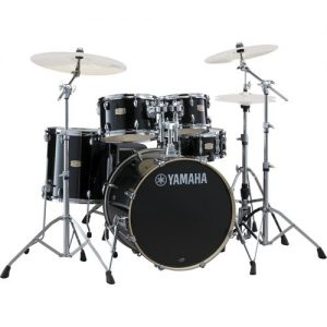 Yamaha Stage Custom Birch 20 5 Piece Drum Kit Raven Black at Gear 4 Music Image