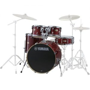 Yamaha Stage Custom Birch 22 5 Piece Shell Pack Cranberry Red at Gear 4 Music Image