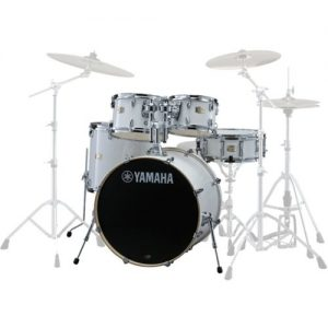 Yamaha Stage Custom Birch 22 5 Piece Shell Pack Pure White at Gear 4 Music Image