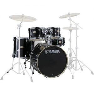 Yamaha Stage Custom Birch 22 5 Piece Shell Pack Raven Black at Gear 4 Music Image
