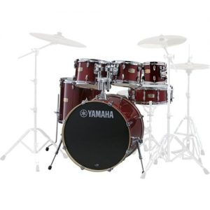 Yamaha Stage Custom Birch 22 6pc Shell Pack Cranberry Red at Gear 4 Music Image