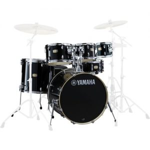Yamaha Stage Custom Birch 22 6pc Shell Pack Raven Black at Gear 4 Music Image