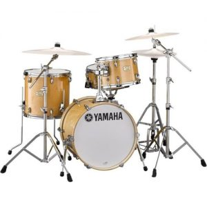"Yamaha Stage Custom Hip 20"" 3pc w/Crosstown Hardware Natural Wood at Gear 4 Music Image"