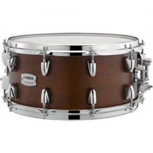 Yamaha Tour Custom 14 x 6.5 Snare Drum Chocolate Satin at Gear 4 Music Image