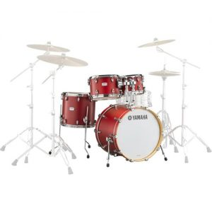 "Yamaha Tour Custom 22"" Shell Pack Candy Apple Satin at Gear 4 Music Image"