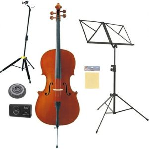 Yamaha VC5S Student Cello Full Size Beginners Pack at Gear 4 Music Image
