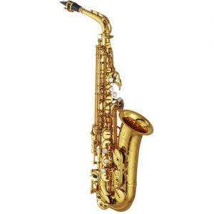 Yamaha YAS82ZULWOF Custom Z Saxophone Gold Unlacquered Finish at Gear 4 Music Image