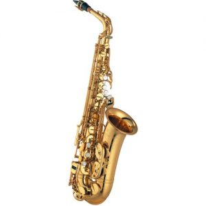Yamaha YAS875EXP Custom Alto Saxophone Gold Plated at Gear 4 Music Image