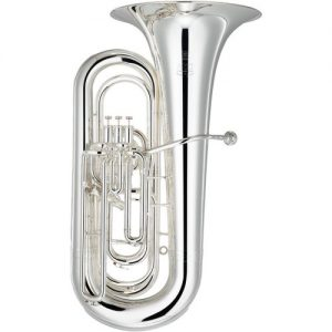 Yamaha YBB-632 Neo Series Bb Tuba Silver at Gear 4 Music Image