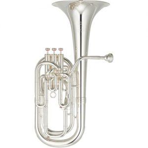 Yamaha YBH831S Neo Baritone Horn Silver at Gear 4 Music Image