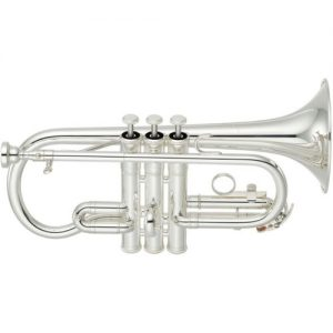 Yamaha YCR2610SIII Student Soprano Cornet Silver at Gear 4 Music Image