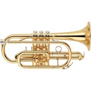 Yamaha YCR6330 Professional Cornet with Clear Lacquer Finish at Gear 4 Music Image