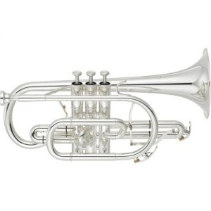 Yamaha YCR8335 Neo Cornet Silver Plate at Gear 4 Music Image