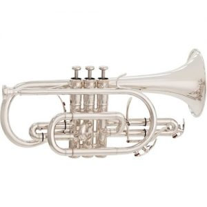 Yamaha YCR8335G Neo Cornet Silver Plate - Ex Demo at Gear 4 Music Image