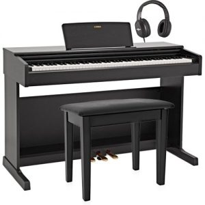 Yamaha YDP 144 Digital Piano Package Black at Gear 4 Music Image
