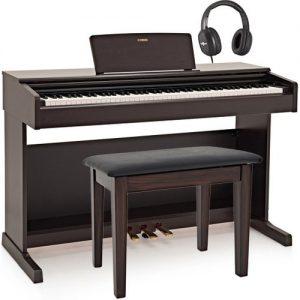 Yamaha YDP 144 Digital Piano Package Rosewood at Gear 4 Music Image