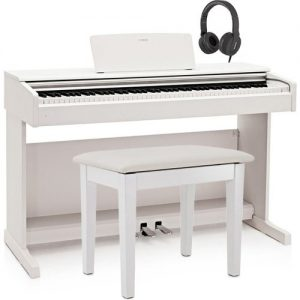 Yamaha YDP 144 Digital Piano Package White at Gear 4 Music Image