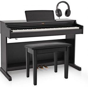 Yamaha YDP 164 Digital Piano Package Black at Gear 4 Music Image