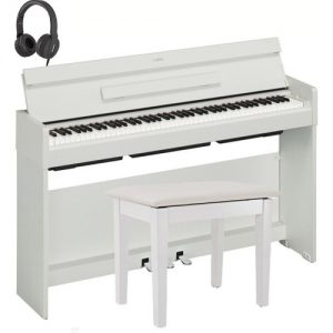 Yamaha YDP S34 Digital Piano Package White at Gear 4 Music Image