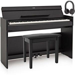 Yamaha YDP S54 Digital Piano Package Black at Gear 4 Music Image