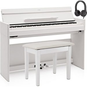 Yamaha YDP S54 Digital Piano Package White at Gear 4 Music Image