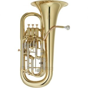 Yamaha YEP642 Neo Professional Trigger Euphonium Gold Lacquer at Gear 4 Music Image
