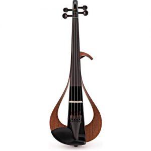 Yamaha YEV104 Series Electric Violin Black Finish at Gear 4 Music Image