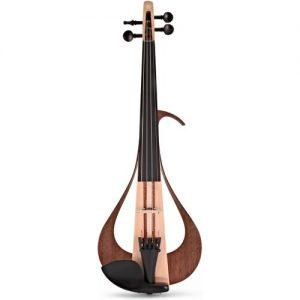 Yamaha YEV104 Series Electric Violin Natural Finish at Gear 4 Music Image