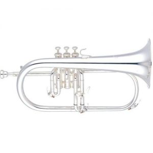 Yamaha YFH-631GS Professional Flugel Horn Silver at Gear 4 Music Image